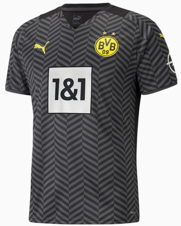 PUMA Herren 759057 04 BVB AWAY Shirt Replica Mens Jersey 21/22