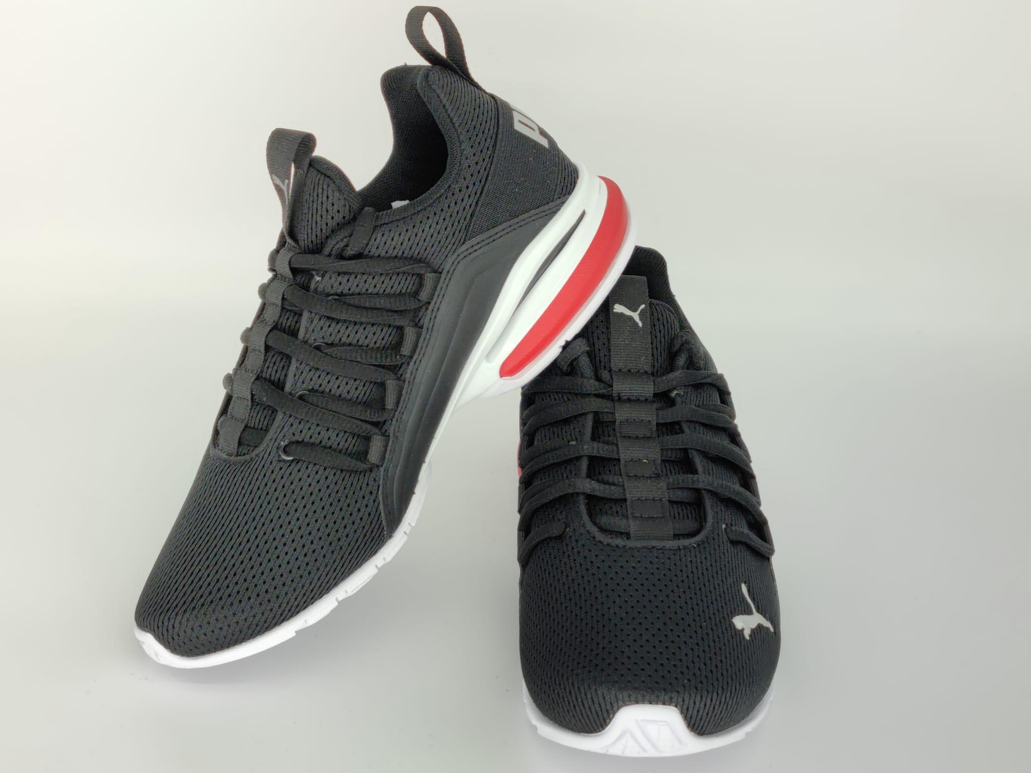 PUMA Kinder Sneaker 194285 01 Axelion Mesh Jr