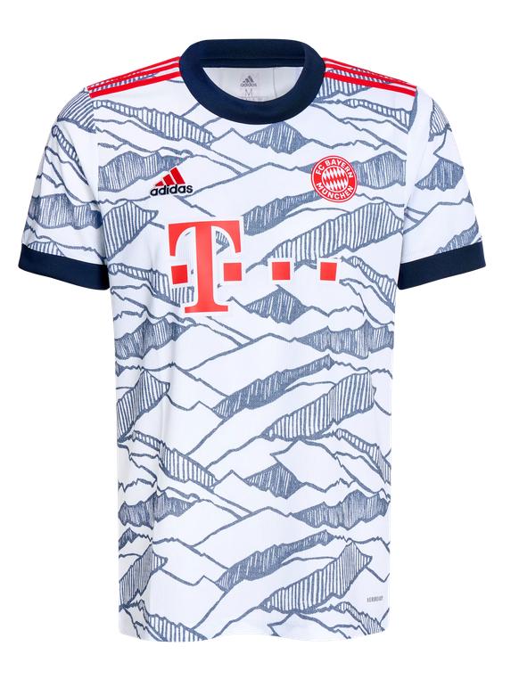 ADIDAS FC Bayern Kinder Trikot Champions League 21/22 GR0496