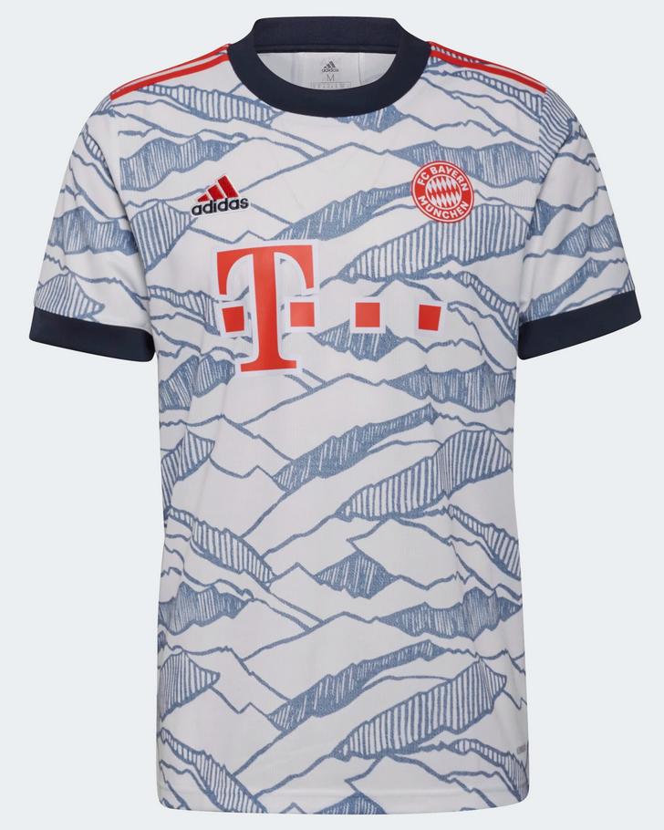 ADIDAS Herren GM5315 FC Bayern München 21/22 Ausweichtrikot