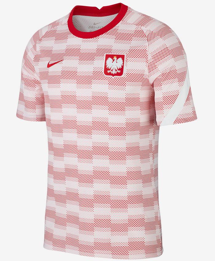 NIKE Polen Pre-Match Trikot CV0557-100